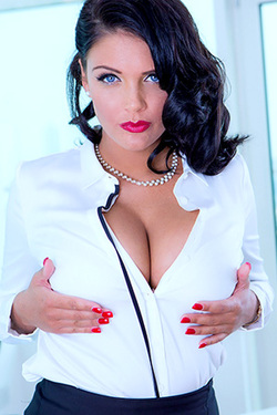 Emma Leigh in 'Sexy Secretary' via Dorcel Vision