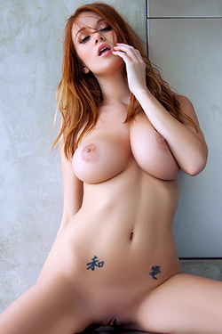 Leanna Decker in 'Unpublished Pics' via Playboy